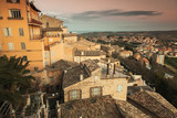 Cityscape of Fermo, old Italian town - 212041040