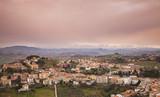 Italian countryside, rural landscape - 212041041