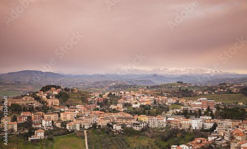 Italian countryside, rural landscape