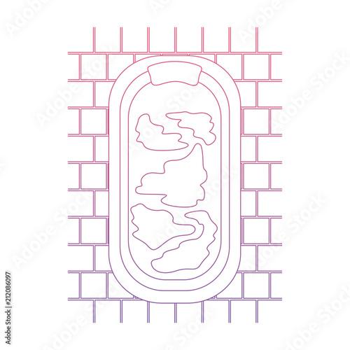 home bathtub scene icon vector illustration design - 212086097