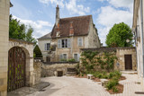 House and laneway in the beautiful French town of Loches - 212086892
