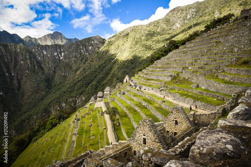 Aluminium Grijze traf. Machu Pichu