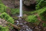 Latourell Falls in Columbia River Gorge, Oregon, USA