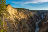 Grand Canyon of the Yellowstone National Park, Wyoming, USA