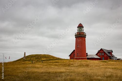 Fotobehang Noordzee Bovbjerg Fyr