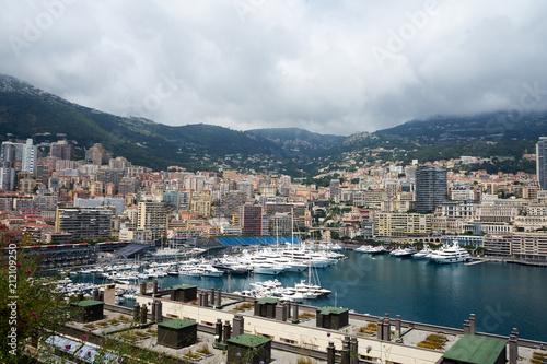 Skyline von Monaco