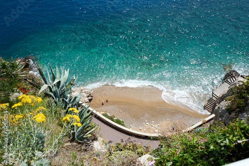 Aluminium Tropical strand Kleiner Strand in Monaco