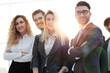 Leinwanddruck Bild - closeup.friendly business team.