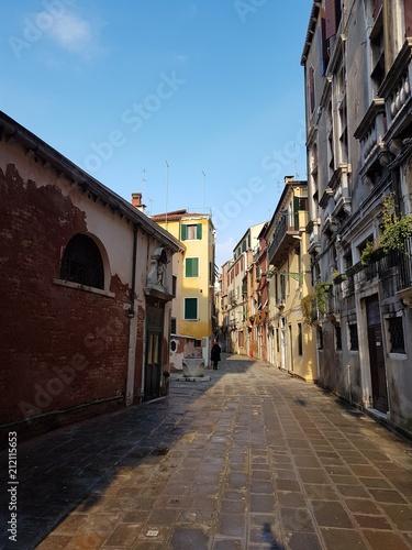 Fotobehang Smalle straatjes Ruelas de Veneza