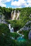 Wasserfall bei den Plitwitzer Seen in Kroartien