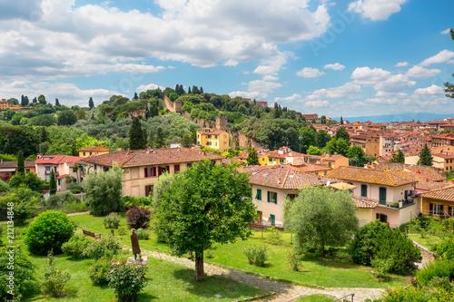 Fotobehang Florence Florence cityscape. Italy landmark.