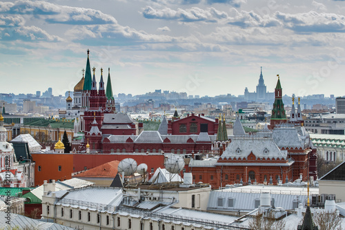 View of Moscow from the Central Children's Store