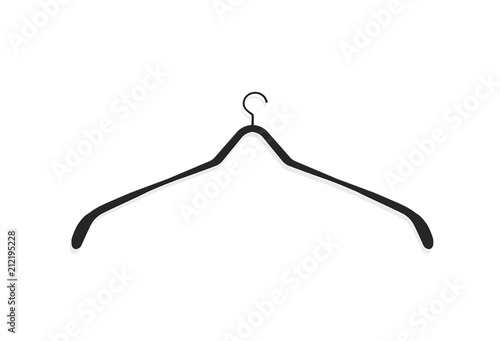 realistic wooden hangers for coats sweaters dresses skirts