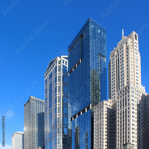 Foto Murales USA - Chicago City View