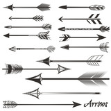 Big set of vector tribal arrows for design - 212210264