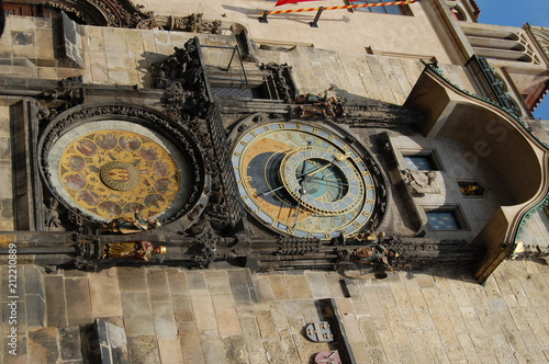Foto Murales Clock in Prague