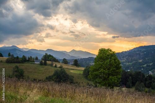 Fototapeta góry