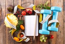 "Постер, картина, фотообои ""diet food concept"""