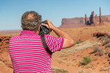 Photographer at Mounument Valley - 212222429