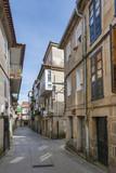 Historical street in Pontevedra city