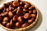 Chestnuts, Autumn harvest - 212227681
