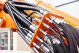 Hoses of hydraulic machine - 212229650