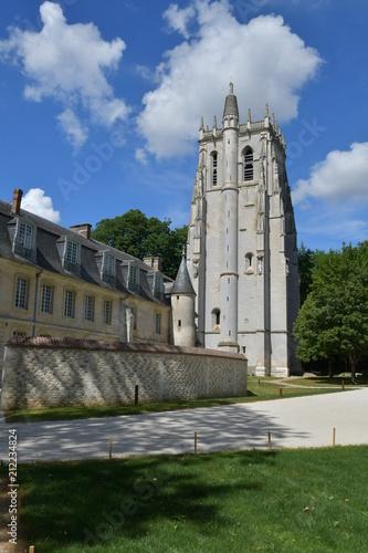 Tour Saint-Nicolas, Abbaye du Bec-Hellouin (France)