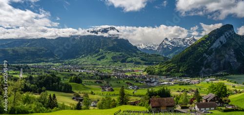 Schwyz valley view - 212245479