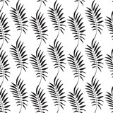 Floral pattern. Leaves texture. Stylish abstract vector plant ornamental background - 212263607