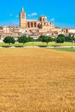 Church old village Sineu on Majorca, Spain - 212264053