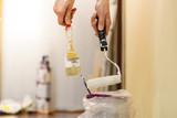 White paint with essentials equipment - 212269819