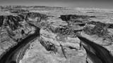 Panoramic aerial view of Horseshoe Bend, Arizona, USA - 212276688