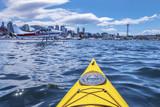 Kayaking at Lake Union in Seattle, WA - 212284891