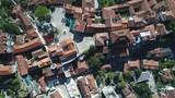 Overhead drone shot of old town of Herceg Novi in Montenegro - 212287830
