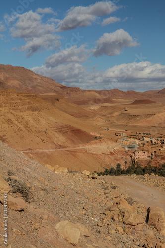 Fotobehang Marokko Morocco, High Atlas landscape
