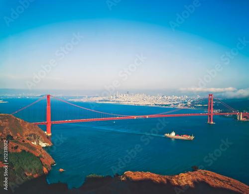 Canvas San Francisco San Francisco with Golden Gate Bridge