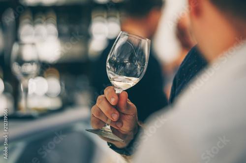 Fototapeta White Wine Tasting