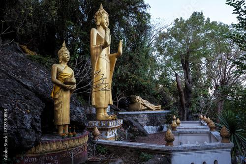 Aluminium Boeddha Laos - Luang Prabang - Mount Phousi