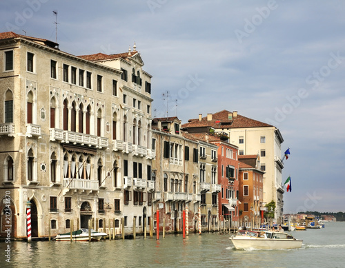 Grand Canal in Venice. Italy - 212343670