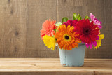 Gerbera daisy flower boquet