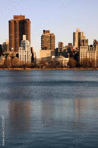 Foto Murales Pond in New York
