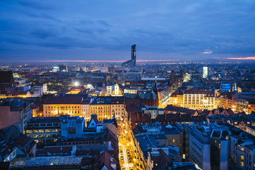 Old town cityscape panorama, Wroclaw, Poland © Krzysztof