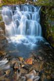 Waterfall along Sunbeam Creek in Mt Rainier National Park