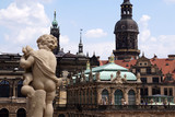 View of Dresden Castle from the balustrade of Zwinger, Dresden Germany - 212369413