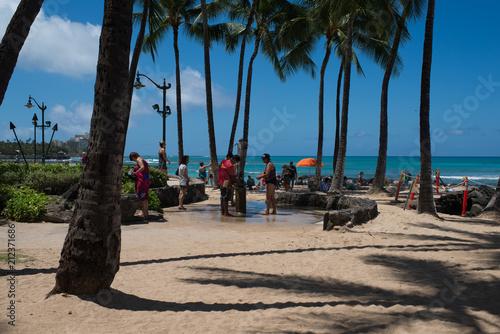 Walking in Hawaii ハワイの散歩