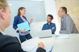 board of directors having a meeting - 212389258