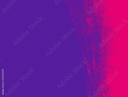 ultra violet and pink hand painted grunge brush texture background - 212412478