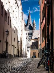 Gasse in Köln