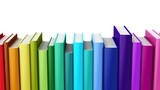 Seamless looping color hardcover books