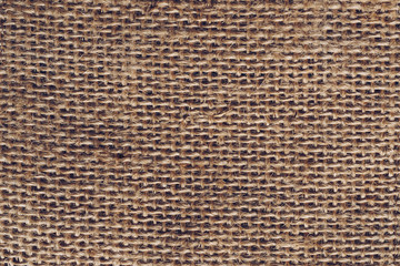 Close up sack texture and pattern background.